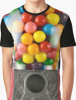 Gumball Machine Graphic T-Shirt