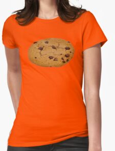 Chocolate Chip Cookie - Junk Food Womens Fitted T-Shirt