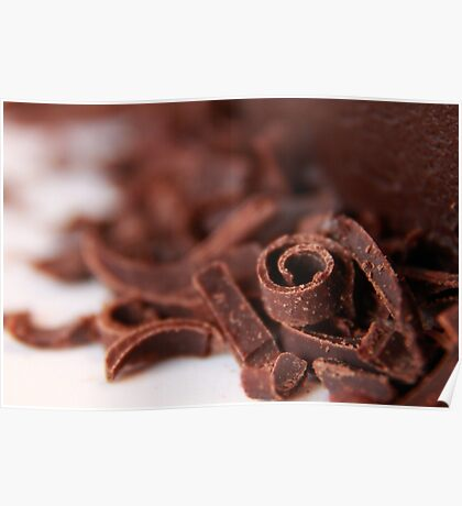 Chocolate Curl Poster
