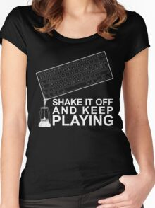 Salty Gamer Women's Fitted Scoop T-Shirt