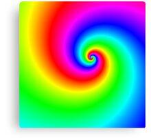 Multi-colored swirl Canvas Print