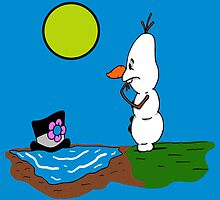 When Frosty Met Olaf by JerryFleming