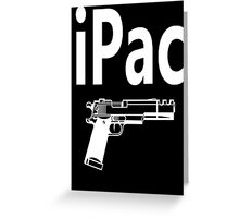 iPac Greeting Card