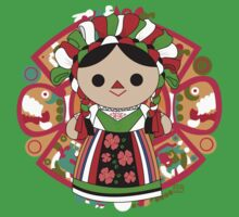 Maria 5 (Mexican Doll) Kids Tee