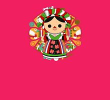 Maria 5 (Mexican Doll) Womens Fitted T-Shirt