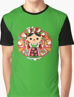 Maria 5 (Mexican Doll) Graphic T-Shirt