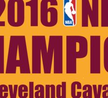 cleveland cavaliers champions Sticker