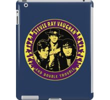 Stevie Ray Vaughan & Double Trouble Colour 2 iPad Case/Skin