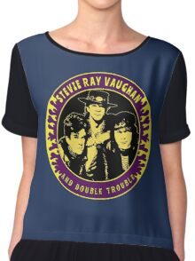 Stevie Ray Vaughan & Double Trouble Colour 2 Chiffon Top