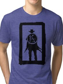 Ka is a wheel w/o color Tri-blend T-Shirt