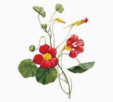 Flower - Nasturtium -  Pierre Joseph Celestin Redouté Unisex T-Shirt