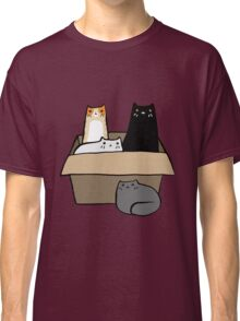Cats in a Box Classic T-Shirt