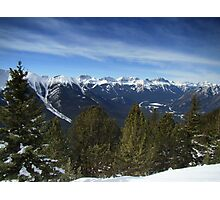 Alpine Ridge Photographic Print