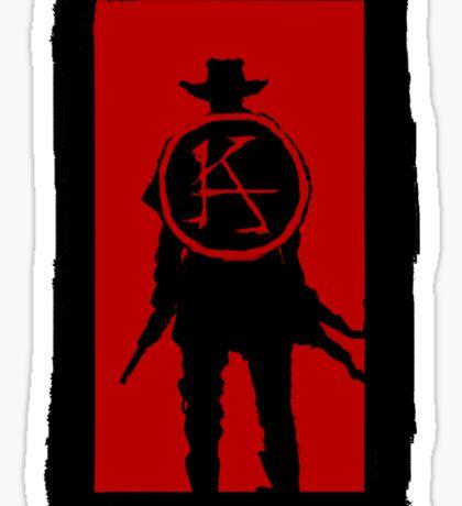 Ka is a wheel Sticker