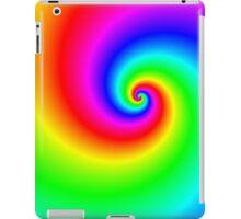 Multi-colored swirl iPad Case/Skin