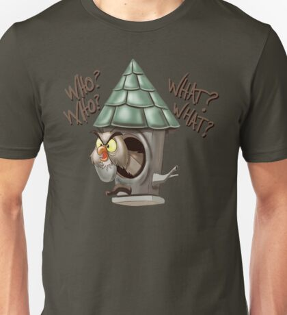 Archimedes Who Who What What? Unisex T-Shirt