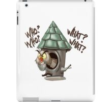 Archimedes Who Who What What? iPad Case/Skin