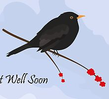 Get Well Soon / Blackbird by Jacqueline Turton