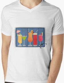 Fruit Drinks Mens V-Neck T-Shirt