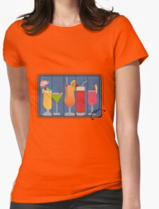 Fruit Drinks Womens Fitted T-Shirt
