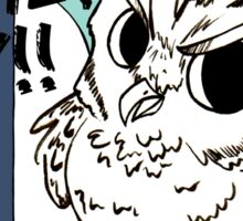 Bokuto Owl Sticker