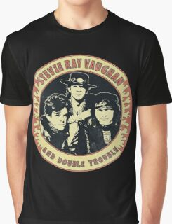 Stevie Ray Vaughan & Double Trouble Vintage Graphic T-Shirt