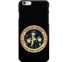 Stevie Ray Vaughan & Double Trouble Vintage iPhone Case/Skin