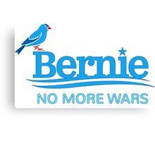 Birdie Sanders - No More Wars Canvas Print