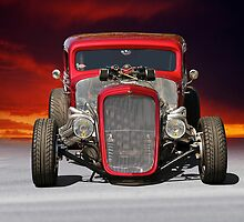 1934 Chevy Coupe - Head On by DaveKoontz