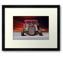 1934 Chevy Coupe - Head On Framed Print