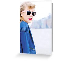 NEW YORK SWIFT Greeting Card