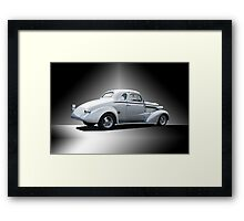 1937 Chevy Coupe 'Studio' Framed Print