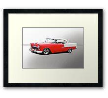 1955 Chevrolet Bel Air 'Studio' Framed Print