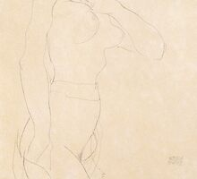 Nude Girl by Bridgeman Art Library