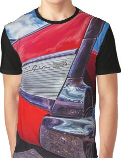 Red Bel Air Graphic T-Shirt