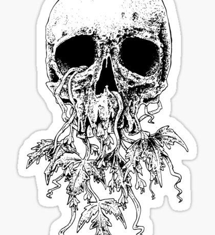 Vinyard skull Sticker