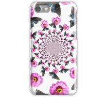 Butterfly on Flower Kaleidoscope  iPhone Case/Skin