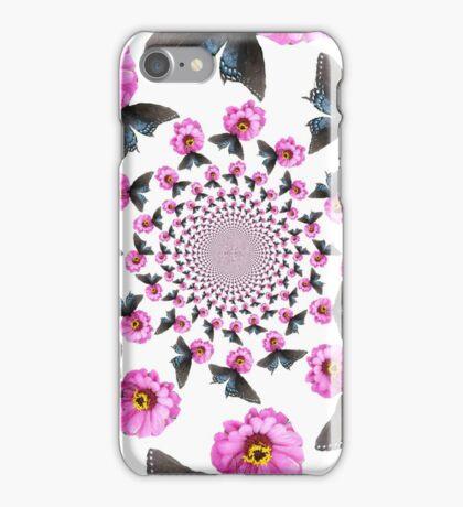 Butterfly on Flower Kaleidoscope  iPhone Case/Skin