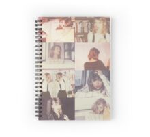 POLAROIDS  Spiral Notebook