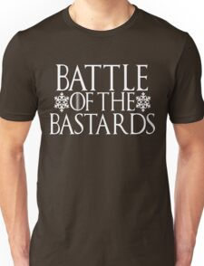 Battle of the Bastards #battleofthebastards Game Thrones Stark Bolton Snow Sansa Unisex T-Shirt