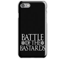 Battle of the Bastards #battleofthebastards Game Thrones Stark Bolton Snow Sansa iPhone Case/Skin