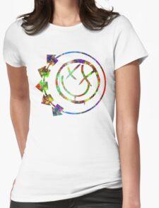 Blink Splatter Womens Fitted T-Shirt