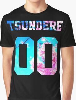 Tsundere - 00 Jersey Graphic T-Shirt