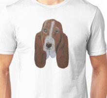 Portrait of a Basset Hound Unisex T-Shirt