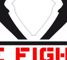 2 fire axes firefighter Sticker