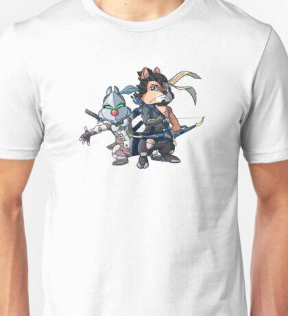 Ninja Chipmunks Unisex T-Shirt