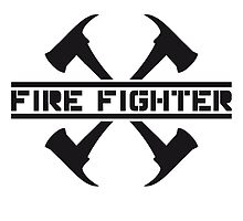 2 fire axes firefighter by Style-O-Mat
