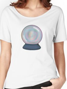 trippy crystal ball  Women's Relaxed Fit T-Shirt