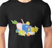 Hippie vintage style patches collection Unisex T-Shirt