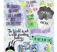The Fault in our Stars-Samsung Galaxy s4 phone case by taylorhahn